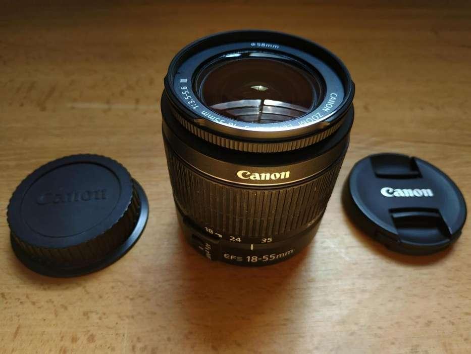 Lente Canon EF-S 18-55mm f/3.5-5.6