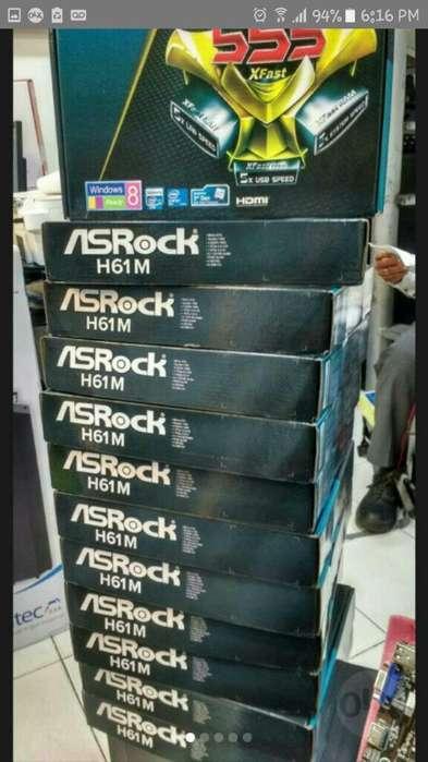 Board H61 Asrock 2y3 Generacion Nueva