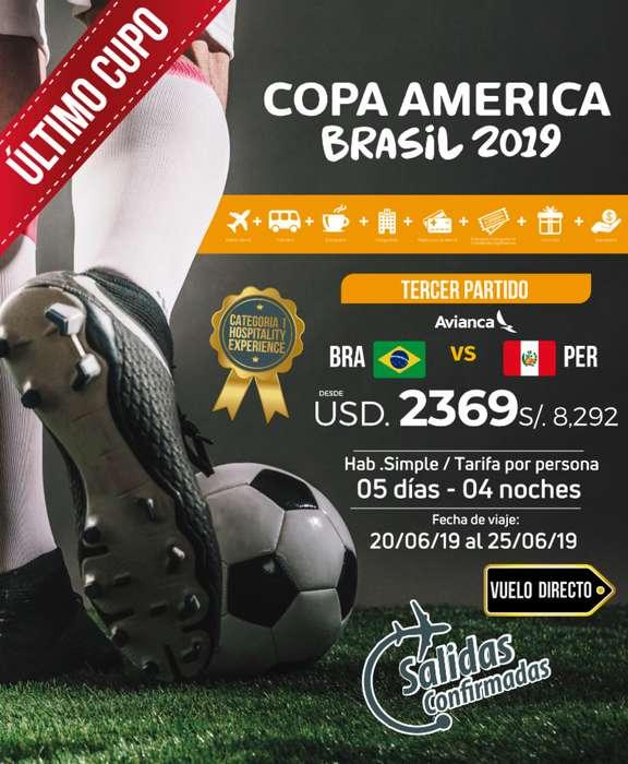 COPA AMERICA 2019 - ULTIMO CUPO EN PAQUETE HOSPITALITY EXPERIENCE