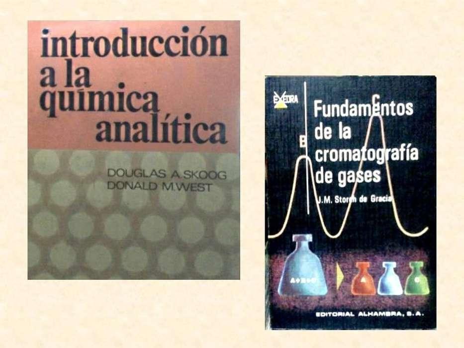 Libros de Química Analítica, para Ingeniería.