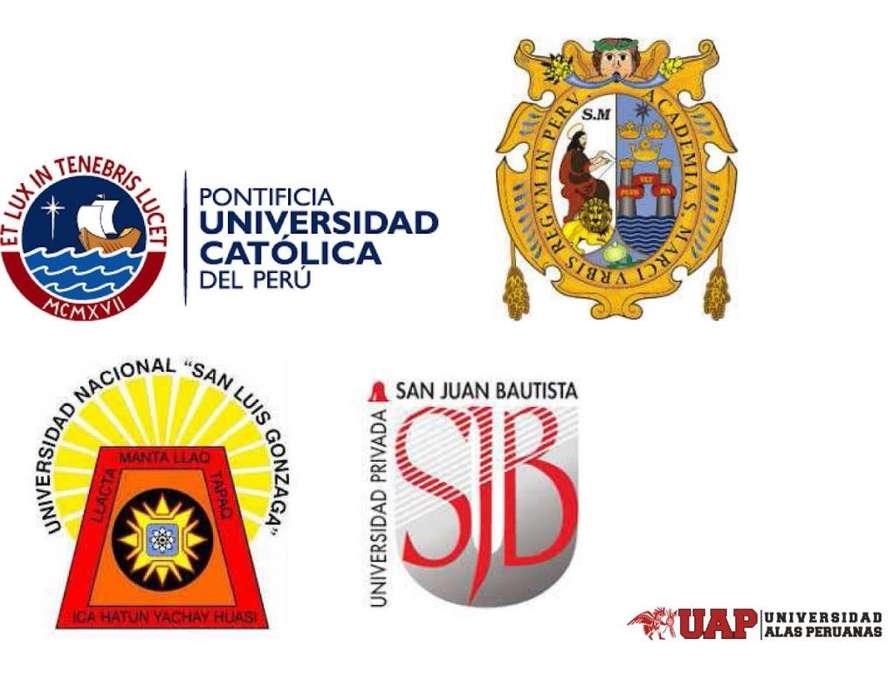 Preparación PRE_UNI Admisión: CATÓLICA, SAN MARCOS, SAN LUIS, SAN JUAN, UAP...