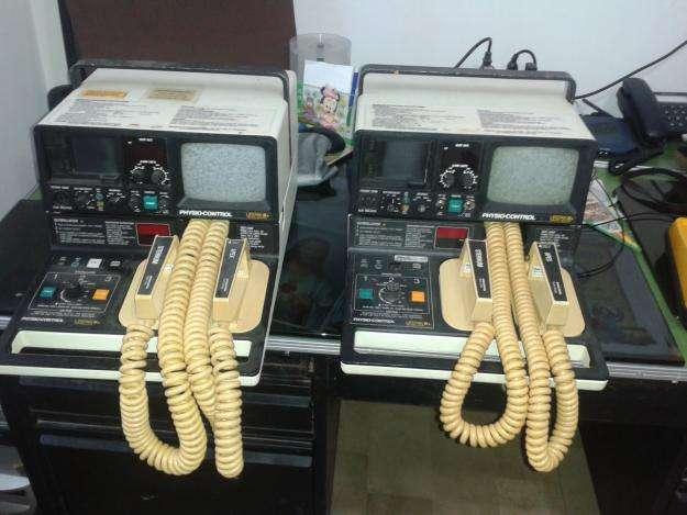 defibrilador <strong>monitor</strong> cardiaco LIFEPAK 6s PHYSIOCONTROL buen estado