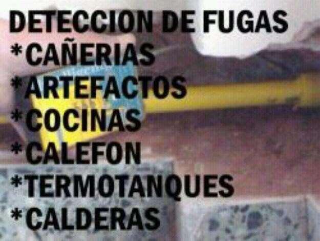 Plomero gasista destapaciones, artefactos a gas instalaciones filtraciónes, trabajos garan