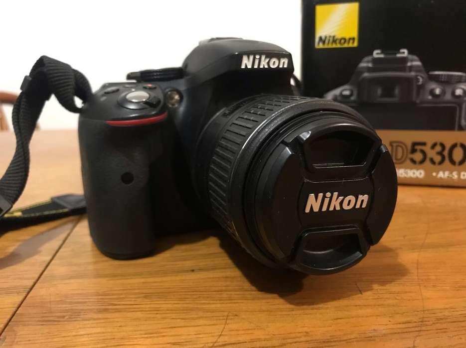 Camara Reflex Nikon D5300 Kit 18-55 Vrii