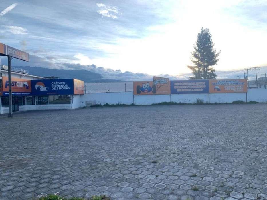 Arriendo Terreno Esquinero Eloy Alfaro, Norte de Quito