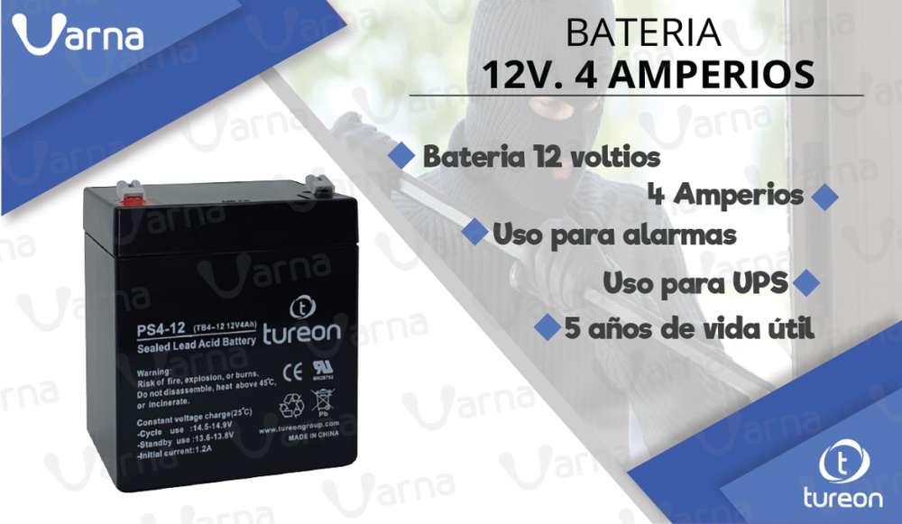 <strong>bateria</strong> 12 voltios. 4 amperios