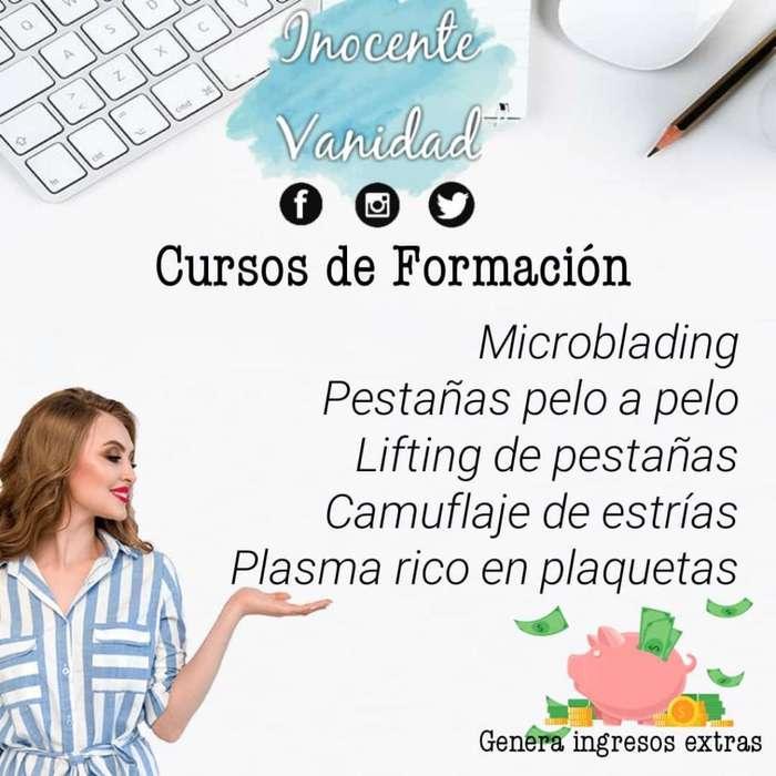CURSOS CEJAS PELO A PELO, MICROBLADING, PESTAÑAS, CAMUFLAJE DE ESTRIAS Y MAS