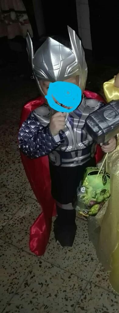 Dizfraces de Thors Y Bella