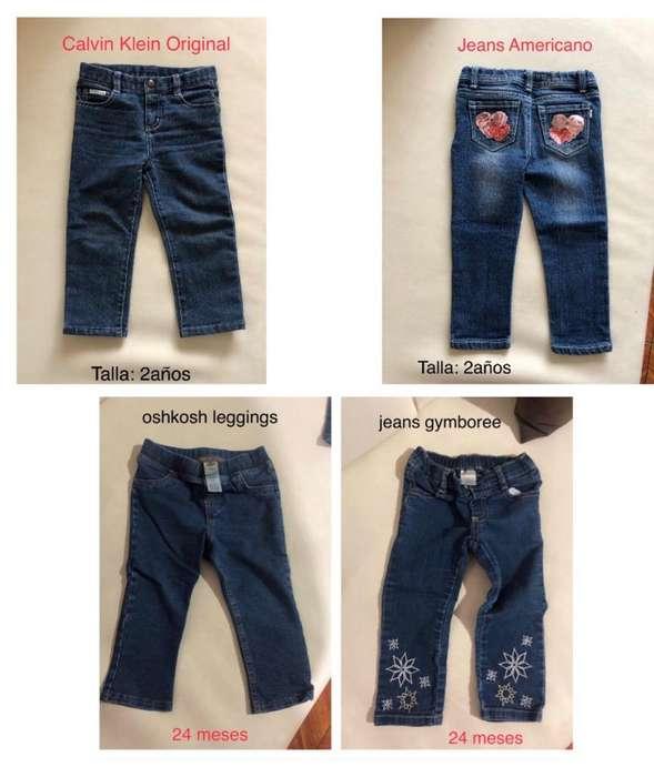 Jeans Niña Americanos Calvin Klein