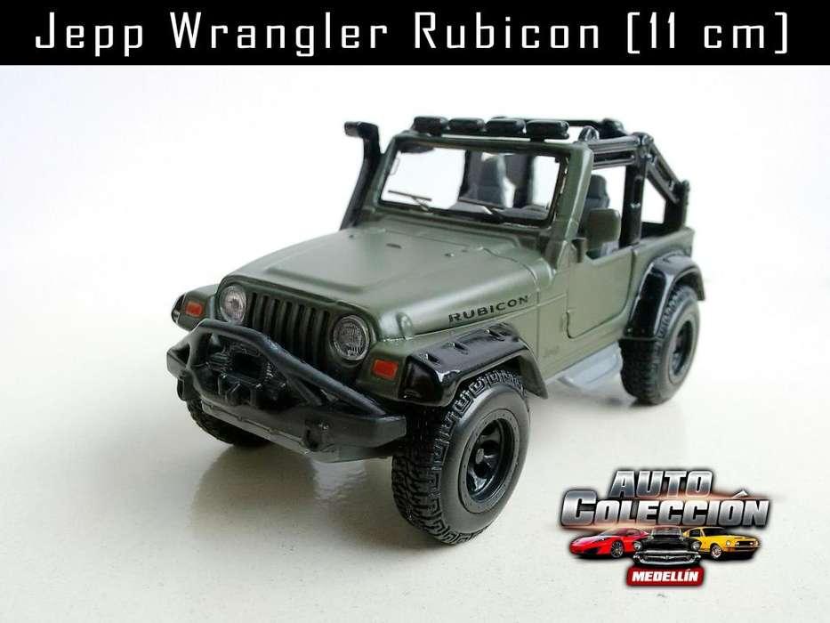 Auto de Colección Jepp Wrangler Rubicon Escala 1/35 11 cm