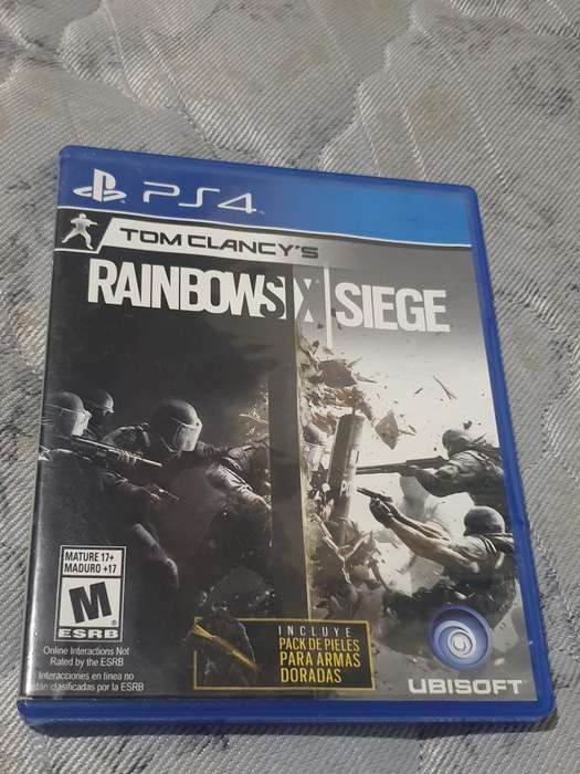 Rainbow Six Siege Ps4 Fisico Berazategui