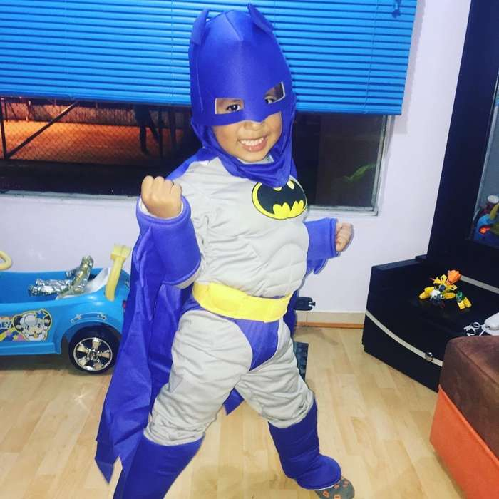 Se Vende Difraz de Batman Azul