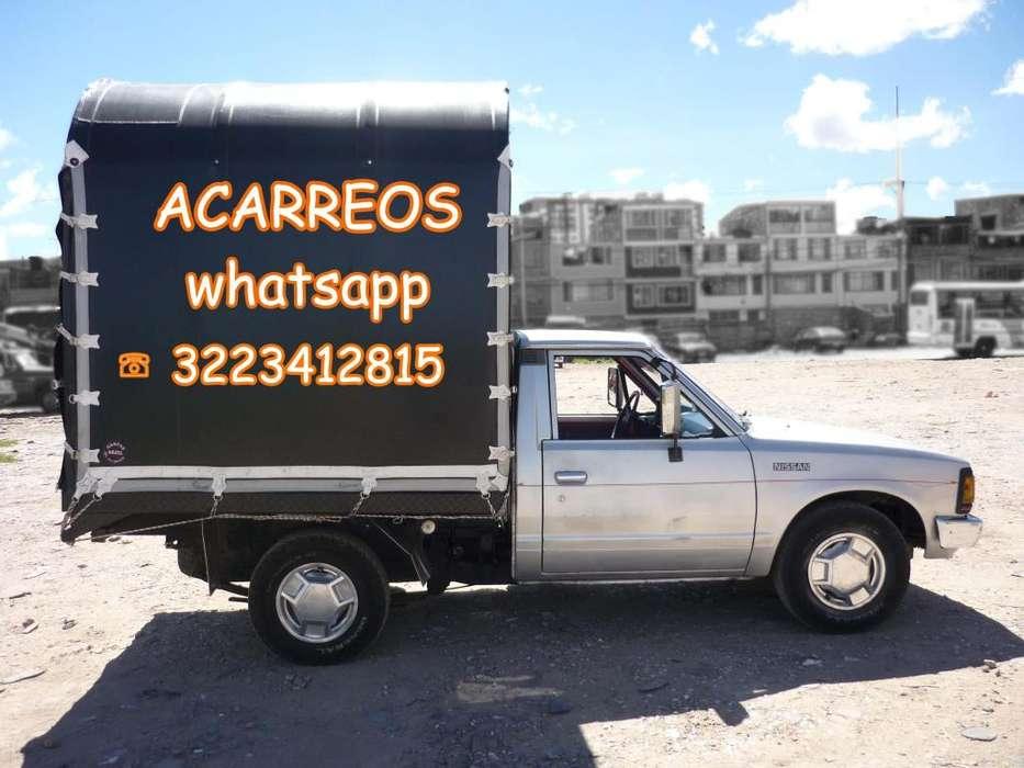 TRANSPORTAMOS PEQUEÑOS ACARREOS DENTRO Y FUERA DE LA CIUDAD WHATSAPP 3223412815