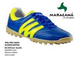 Zapatilla MARACANA 100% originales cuero para Cancha Sintética,Futsal y árbitros