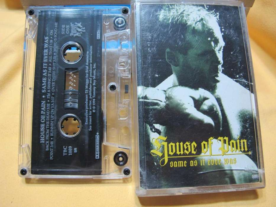 House Of Pain - Same As It Ever Was - Cassette USA