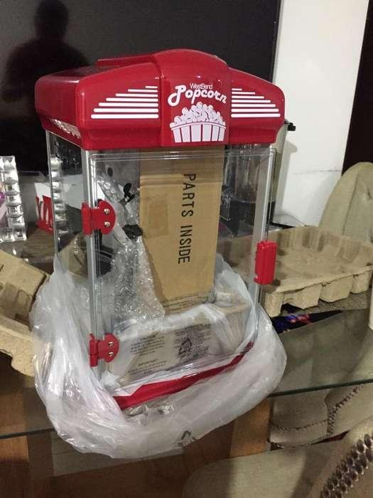 Maquina de Crispetas Americana Nueva!