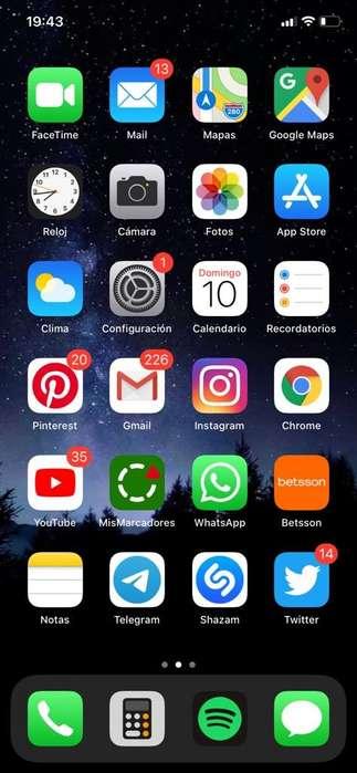 iPhone Xr 64gb color negro