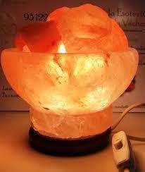 Lámparas de Sal Del Himalaya Tipo Cesto