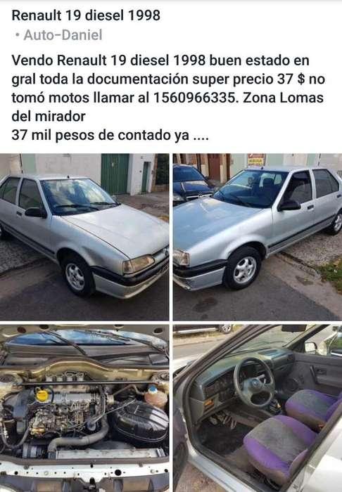 Renault R19 1998 - 12358 km