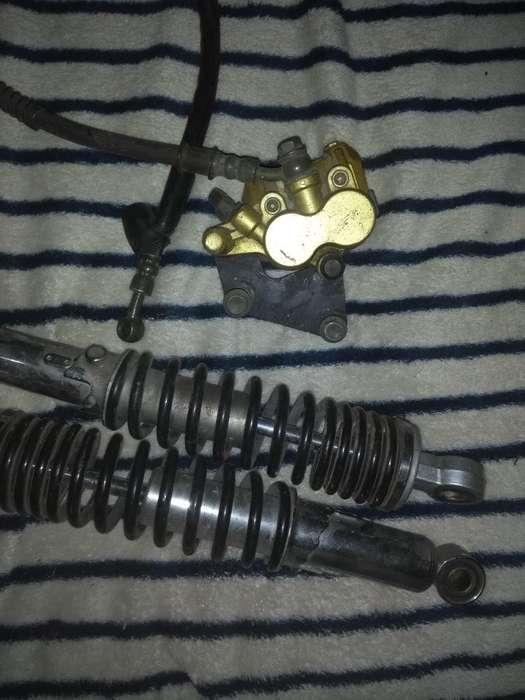 Amortiguadores Jianshe 125 Y Caliper