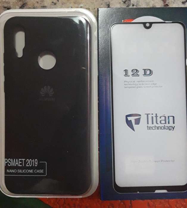 Carcasa Y Mica 12d Huawei P Smart 2019