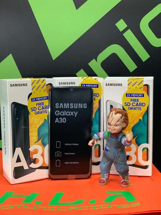 Samsung Galaxy A30 64Gb nuevos factura garantia domicilio sin costo HLACOMUNICACIONES
