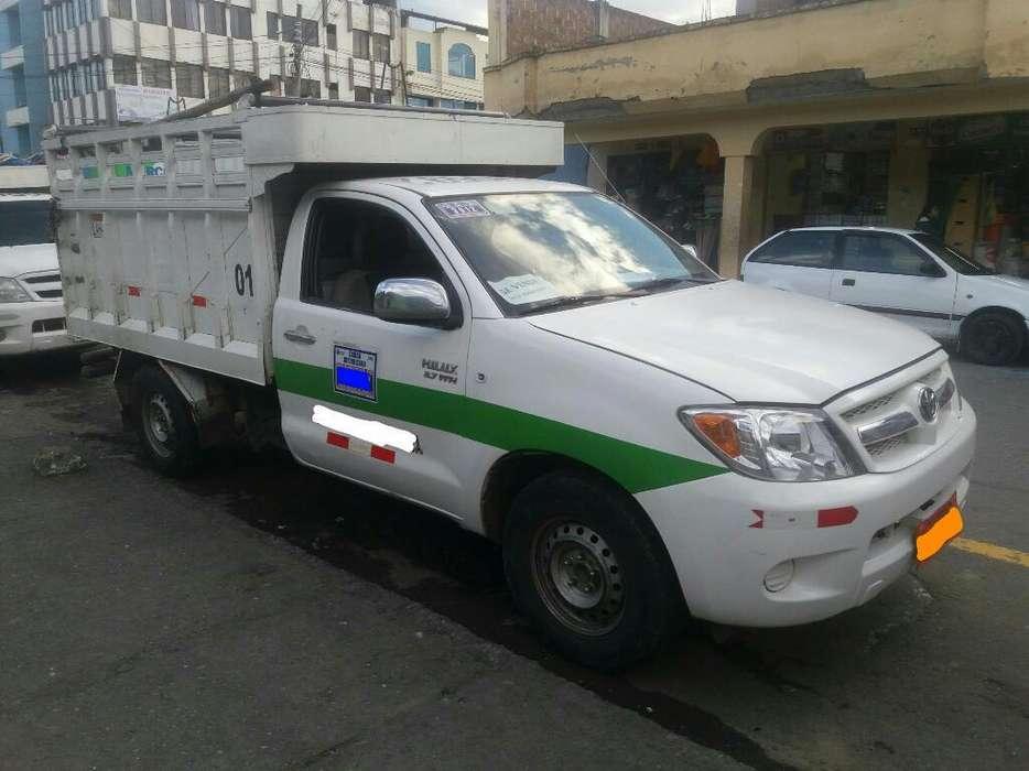 Se Vende Camioneta Toyota Hilux 2007