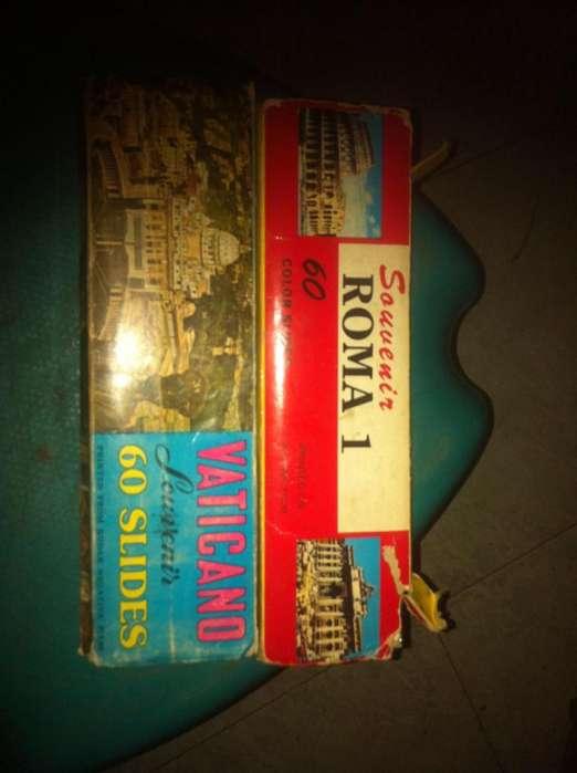filminas souvenir 2 cajas de roma y el vaticano
