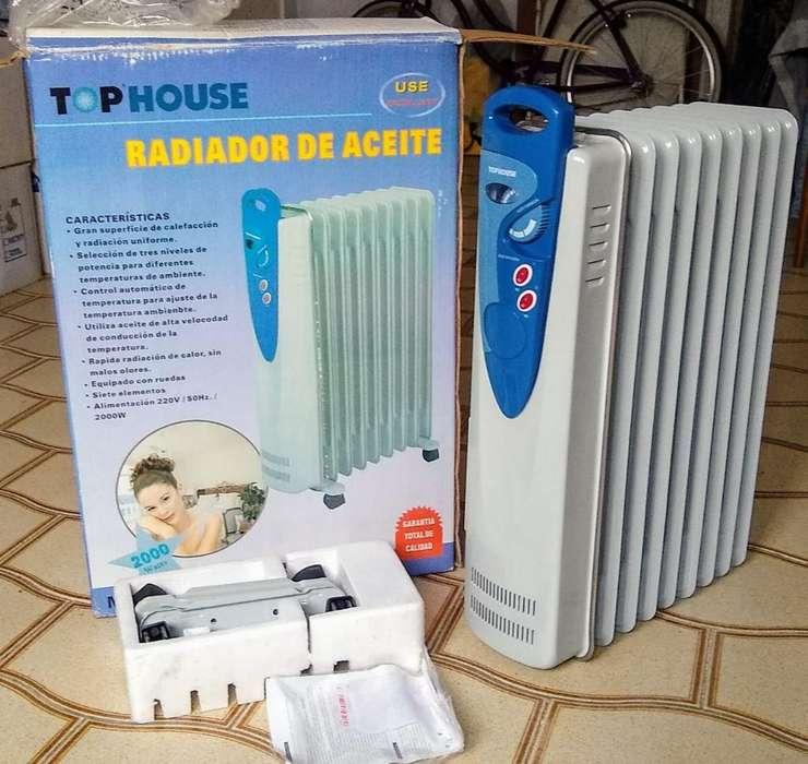 Estufa <strong>radiador</strong> de Aceite - Rosario