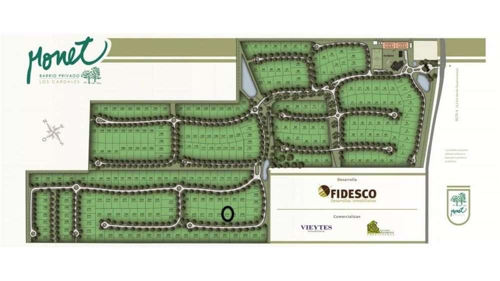 Rp4 100 - UD 33.000 - Terreno en Venta
