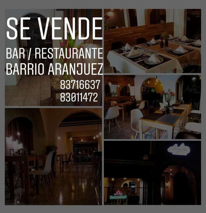 Se vende Bar / Restaurante