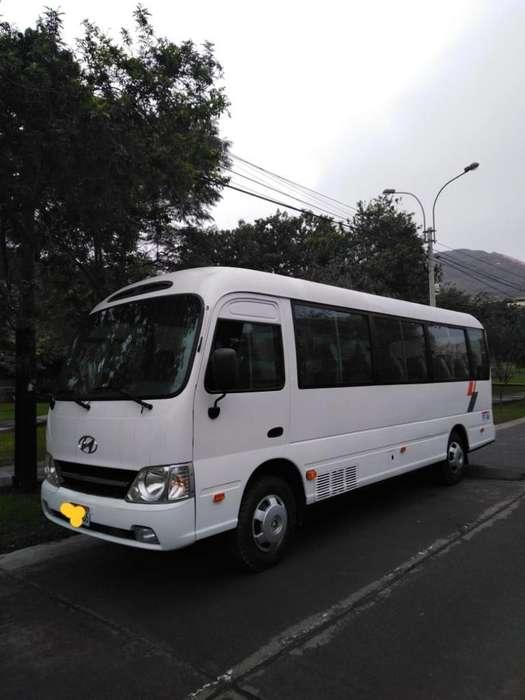 Hyundai county para 28 pasajeros, año 2013, 100155km precio a tratar.