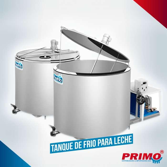 Tanque de Frio para Leche Capacidades: 1000, 2000 y 3000 litros