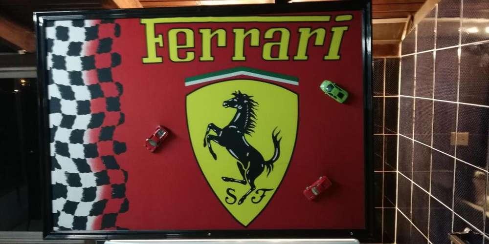 Cuadro Ferrari Serigrafia Venta O Cambio