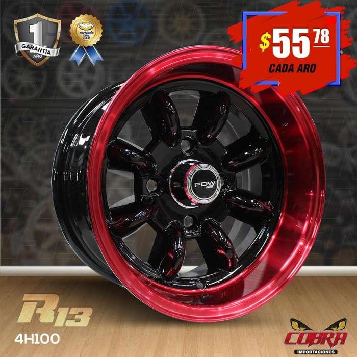 Aro Rin 13 Chevrolet Corsa Kiapicanto I10 Aveo Spark Sentra_4