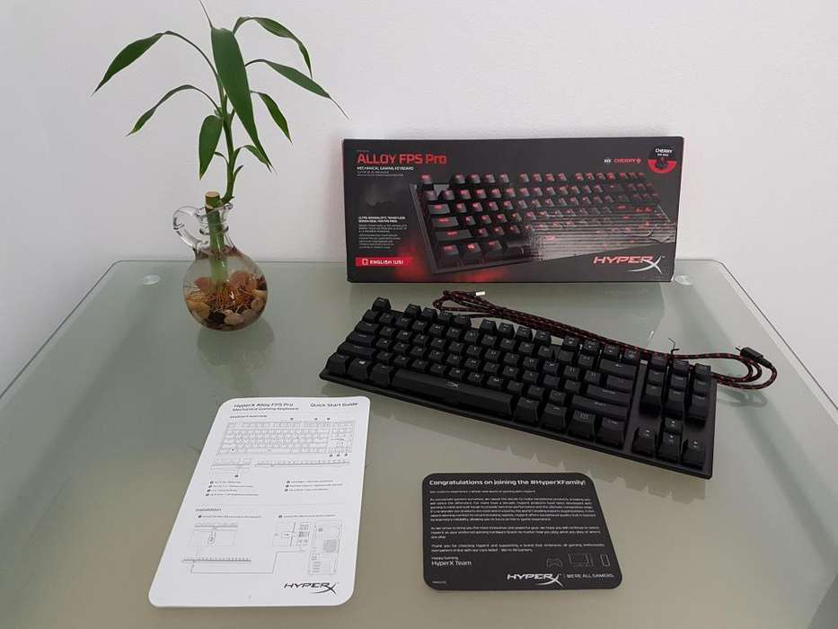 HYPERX ALLOY FPS PRO GAMING KEYBOARD CHERRY MX RED