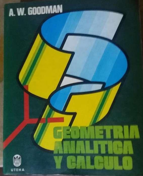 Libro Geometría Analítica y Cálculo A. W. Goodman UTEHA