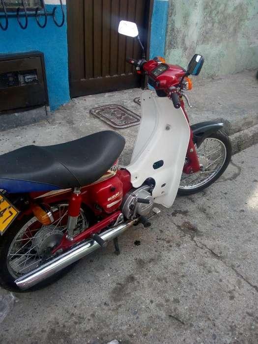 Vendo <strong>moto</strong> Fr100 Suzuki