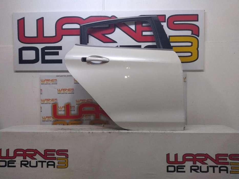 Puerta Trasera Derecha Peugeot 208 02891295