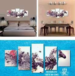 Cuadros Decorativos Tripticos En Madera Para Sala O Habitacion Bogota