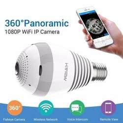 Camara Ip Wifi Hd 1080p Bombillo 360º Visión Nocturna, Nuevos, Originales, Garantizados.