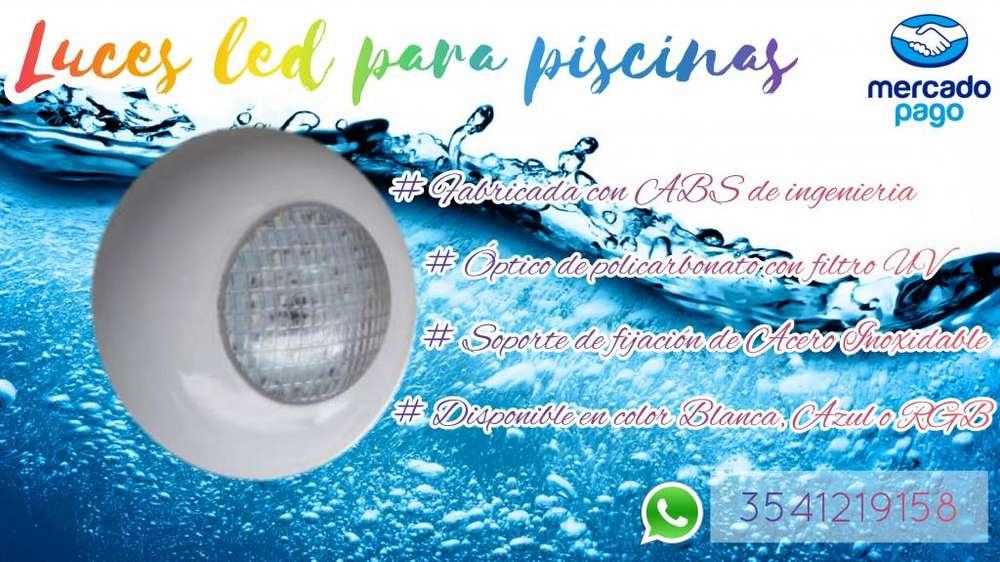 Luces led para <strong>piscina</strong>s