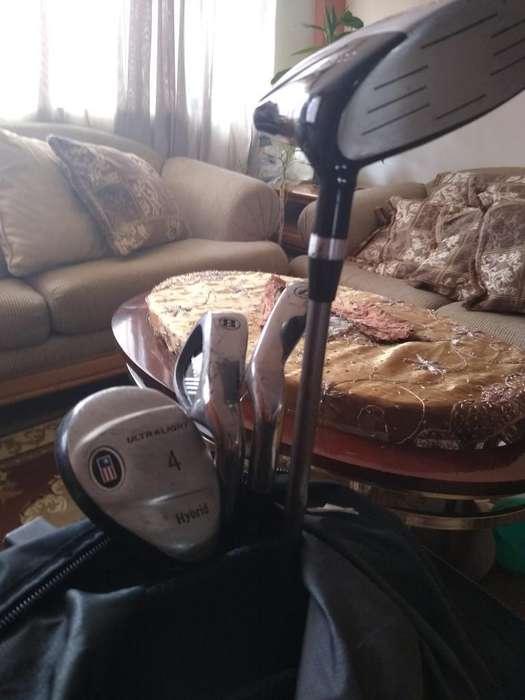 Juego de Palos de <strong>golf</strong> con Estuche