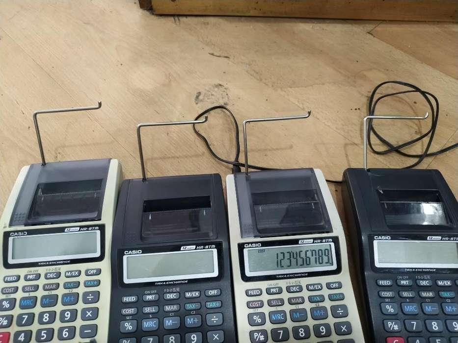 Calculadoras Casio en Buen Estado