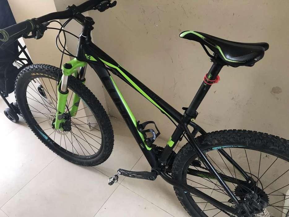 Bicicleta Montañera Cube