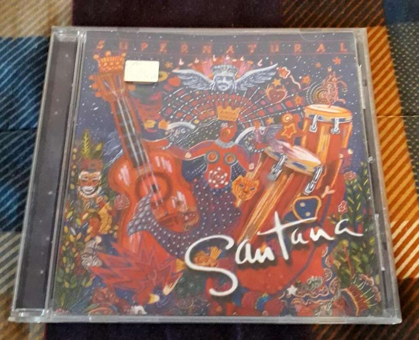 CD Original Santana Supernatural 1999