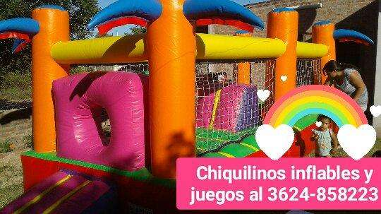 ALQUILO INFLABLES Y <strong>juegos</strong> INFANTILES