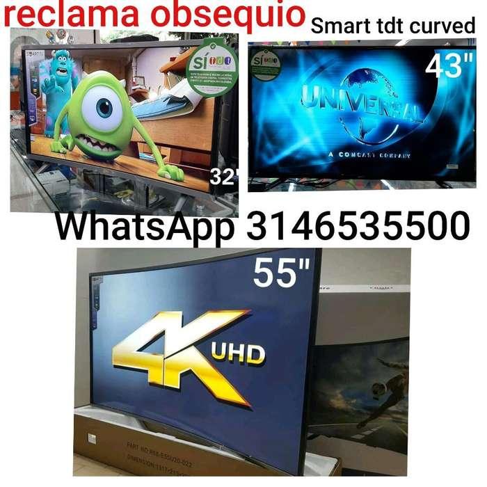 <strong>televisor</strong>es Smart 32 43 55 Incluye Base