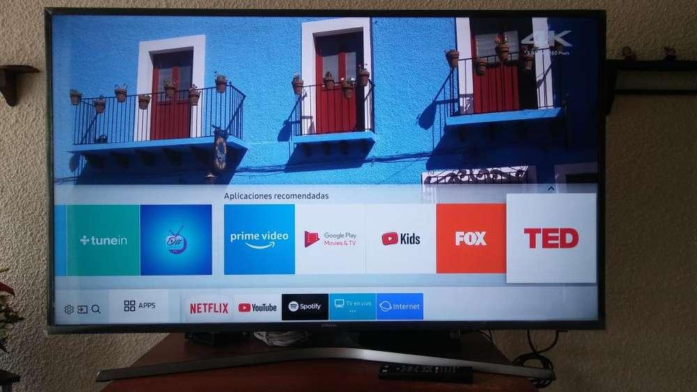 Se vende Televisor 49 Pulgadas SAMSUNG Smart 4K (UHD) y BluRay TOSHIBA