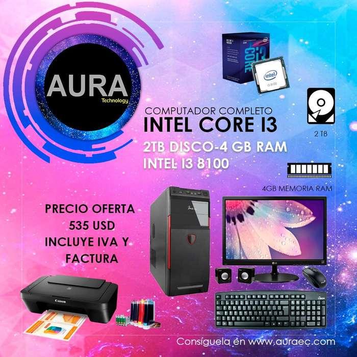 Computador Intel Core I3 8100 8va Generacion